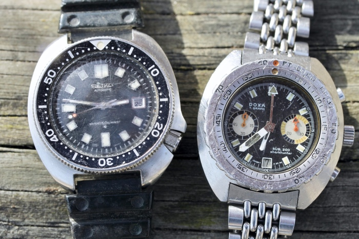 Salvaged Diver: Matt's Doxa T-Graph